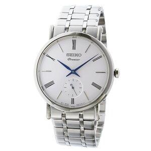 セイコーSEIKOプルミエPREMIERクオーツメンズ腕時計SRK033P1ホワイト【送料無料】【_包装】
