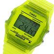 タイメックス TIMEX デジタル クラシック クオーツ ユニセックス 腕時計 時計 T2N808 イエロー【楽ギフ_包装】