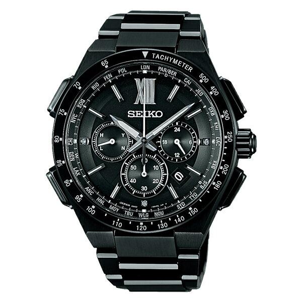 セイコー SEIKO ブライツ BRIGHTZ ソーラー 電波 メンズ 腕時計 SAGA207 国内正規【楽ギフ_包装】:リコメン堂ファッション館