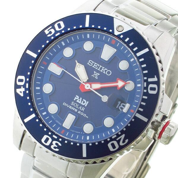 セイコー プロスペックス ソーラー クオーツ メンズ 腕時計 SNE435P1 ネイビー【楽ギフ_包装】:リコメン堂ファッション館