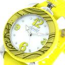 ガガミラノ GaGaMILANO レディスポーツ クオーツ レディース 腕時計 7020.08 ホワイト/イエロー【送料無料】