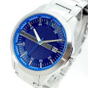 アルマーニエクスチェンジ ARMANI EXCHANGE 腕時計 メンズ AX2408 クォーツ ネイビー シルバー【送料無料】の画像