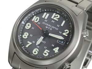 【送料無料】カシオ CASIO OVERLAND 電波 ソーラー 腕時計 OVW-100TDJ-1A2JF【送料無料】【smtb...
