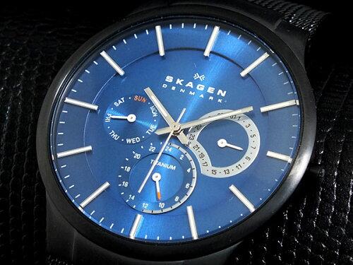 スカーゲン SKAGEN 腕時計 チタン 809XLTBN Performance Driven