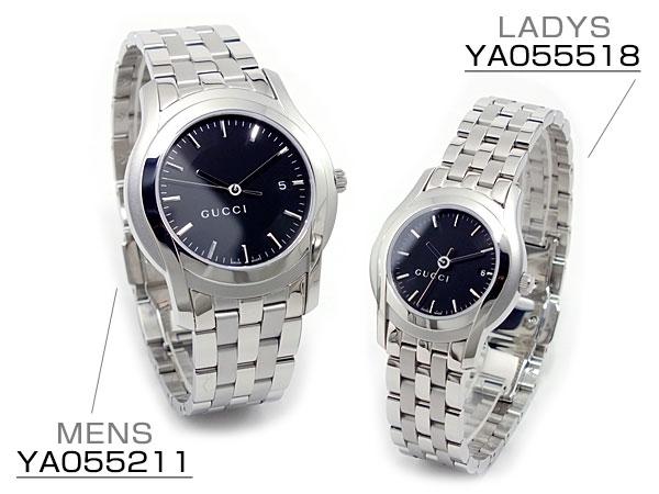 グッチ GUCCI Gクラス 腕時計 ペアセット YA055211-518【楽ギフ_包装】【S1】:リコメン堂ファッション館