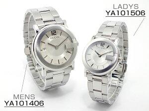 グッチGUCCIGラウンド腕時計ペアセットYA101406-506【送料無料】【3%OFF】【セール】【YDKG円高還元ブランド】【_包装】