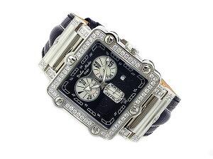 ドルチェメディオDOLCEMEDIOクオーツメンズクロノ腕時計DM8018QZ-BK【送料無料】【YDKG円高還元ブランド】【_包装】