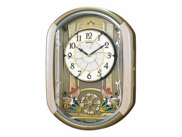 セイコー SEIKO からくり時計 電波時計 掛け時計 RE567G:リコメン堂ファッション館