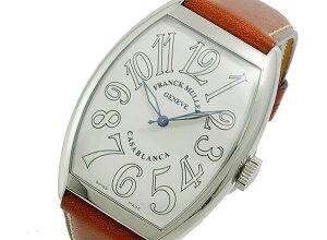 フランクミュラーFRANCKMULLERカサブランカ自動巻きメンズ腕時計6850-C-WHT【送料無料】【YDKG円高還元ブランド】【楽ギフ_包装】