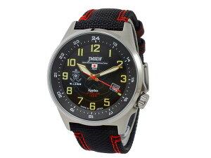 ケンテックスKENTEXJFDFソーラースタンダードメンズ腕時計S715M-03ブラック【送料無料】【_包装】