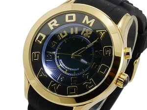 ロマゴROMAGOATTRACTIONクオーツユニセックス腕時計RM015-0162PL-GDBK【送料無料】【_包装】