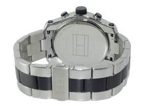 トミーヒルフィガーTOMMYHILFIGERアナデジメンズクロノグラフ腕時計1790949【送料無料】【_包装】