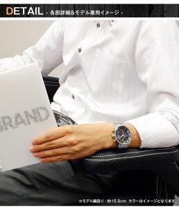 サルバトーレマーラXBメンズクロノ腕時計SMXB-001SS-SSBKPGブラック文字盤ステンレスベルト【送料無料】【_包装】