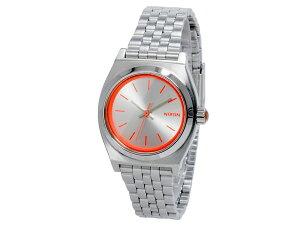ニクソンNIXONスモールタイムテラーSMALLTIMETELLER腕時計時計A399-1764SILVERNEONPINKシルバーネオンピンク【_包装】