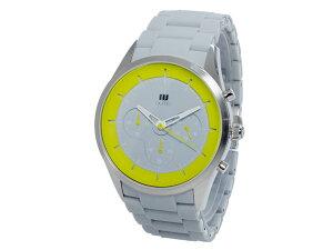 ヌーティッドNUTIDCRATERクオーツメンズクロノ腕時計N-1404P-DGY/YE【送料無料】【_包装】