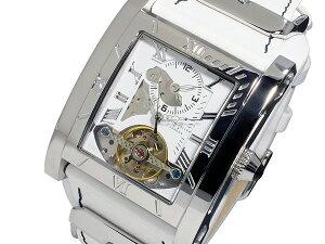 キースバリーKEITHVALLER自動巻きメンズ腕時計SDT2-WHホワイト【送料無料】【_包装】