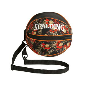 SPALDINGスポルディングバッグボールバッグバックスバニー49-001BBブラック×レッドバスケットボール1個収納ボール収納