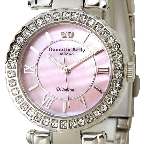 腕時計, レディース腕時計  RAMETTO BELLY RAB2461 SS WHPK 2P