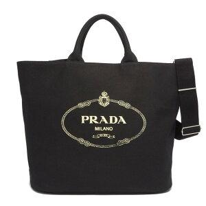PRADA手提袋1BG161ZKI CANAPA手提袋女士F0002 NERO Prada [免费送货]