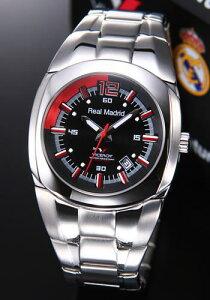 バーセロイ腕時計レアルマドリード公式ウオッチメンズSSブレスクォーツ43825-55