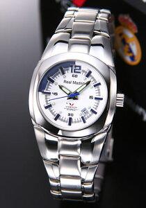 バーセロイ腕時計レアルマドリード公式ウオッチレディスSSブレスクォーツ43829-05