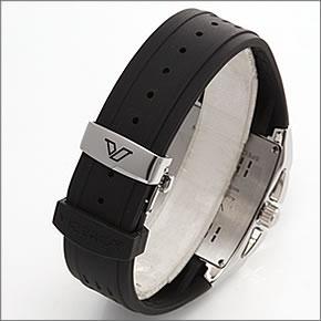 バーセロイメンズ腕時計日本限定モデル「バーセロイ日本初上陸記念」クロノグラフラバーストラップウォッチ47411-55