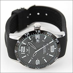 バーセロイメンズ腕時計FUNCOLORSPOPなダイヤルデザイン。デカ系ダイバーズ・ウオッチVC-432049-55
