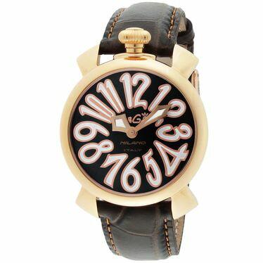 腕時計, レディース腕時計 GAGA 40mm 5021.3-DBR