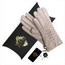 OROBIANCO オロビアンコ レディース手袋 ORL-1457 Leather glove 羊革 ウール LIGHTGRAY サイズ:7.5(21cm)【送料無料】【smtb-f】