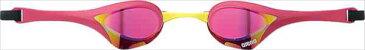 ARENA(アリーナ) くもり止めスイムグラス クッションタイプ COBRA ULTRA(ミラー加工) AGL180M 【カラー】ピンク×ピンク×マゼンタ×イエロー 【サイズ】FREE【S1】