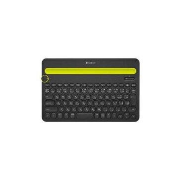 ロジクール マルチデバイス対応Bluetoothキーボード (ブラック) K480BK パソコン パソコン周辺機器 キーボード【送料無料】