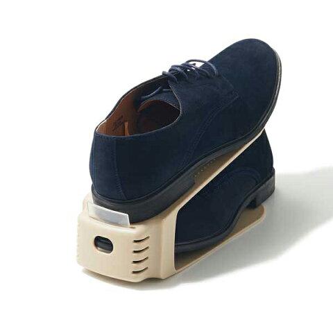 くつホルダー 2個入 靴箱 玄関 収納 シューズホルダー シューズラック 整理整頓 靴ホルダー シューズキーパー すっきり