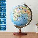 地球儀 レイメイ藤井 国旗・よみがな付地球儀 30cm 行政タイプ OYV328