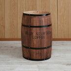 国産木樽 特大サイズ ブラウン たる タル 木樽 プランター ウッド 木製 小物入れ インテリア おしゃれ かわいい 雑貨(代引不可)【送料無料】【smtb-f】