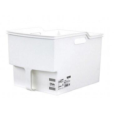 不動技研 吊り戸棚 収納 ボックス 白 ワイド F40001(代引不可)【smtb-f】