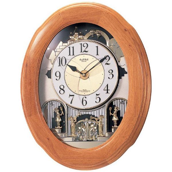 スモールワールド電波掛時計  4MN422RA06(代引き不可):リコメン堂インテリア館