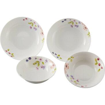 スーザンウィーラー ベリーズ ペアボウル パスタプレート 洋陶器 洋陶鉢 サラダセット GD100014(代引不可)