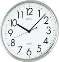 SEIKO オフィスクロック 直径314×36 P枠 銀色【KH220A】(OA・事務用品・掛時計)
