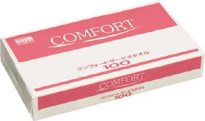 クレシア コンフォートタオル100【37115】(労働衛生用品・トイレ用品)