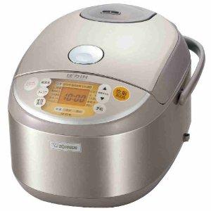 象印 ステンレス 極め炊き 圧力IH炊飯器(1升炊き) NP-NV18-XA 炊飯器 1升炊き