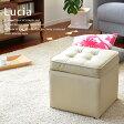 スツールボックス【Lucia/ルシア】(代引き不可)収納ボックス イス 椅子 いす スツール