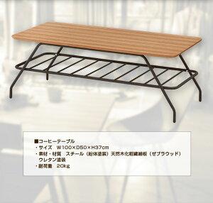 テーブルコーヒーテーブル幅100Endeエンデ【送料無料】(き)