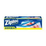(業務用セット) 旭化成 ジップロック 業務用フリーザーバッグ L 1箱(24枚) 【×5セット】