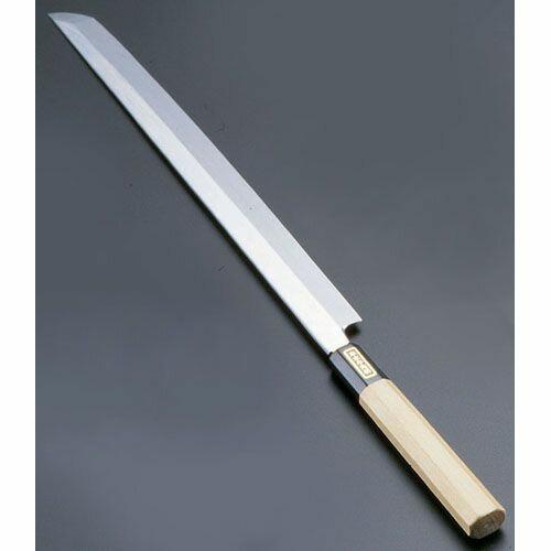 遠藤商事 SA佐文 本焼鏡面仕上 蛸引 木製サヤ 33cm ASB52033:リコメン堂キッチン館