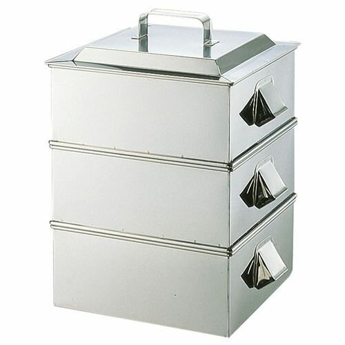 遠藤商事 SA21-0業務用角蒸器 2段 45cm AMS65045:リコメン堂キッチン館