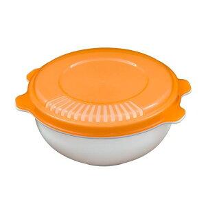 不動技研 電子レンジで調理 半熟玉子風 オレンジ F2584