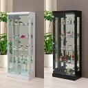 コレクションラック 幅60cm×奥行30cm×高さ150cm コレクションケース コレクションボード 飾り棚 ガラス...