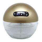 UV搭載 空気洗浄器 Dr.Airball シルバー ゴールド ホワイト 木目調 K30 Dr.エアボール 1.5L 空気清浄機 アロマディフューザー(代引不可)【送料無料】