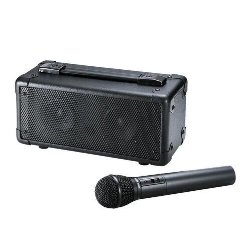 サンワサプライ ワイヤレスマイク付き拡声器スピーカー MM-SPAMP4【S1】:リコメン堂生活館