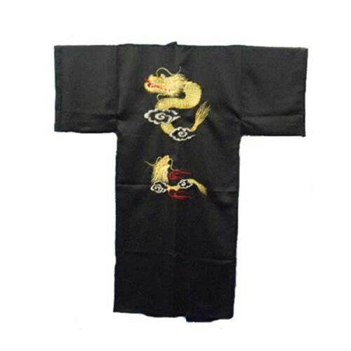 FJK 日本の紳士着物 ポリエステル・龍刺繍・着物 フリーサイズ ER-51 FJK9354700021【...